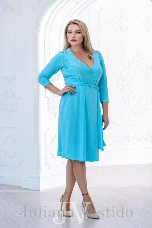 Платье на запах Кейт тиффани арт.2804 большое размер