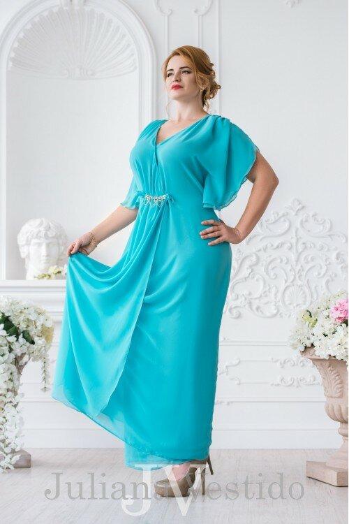 Вечернее платье Влада тиффани арт.2945 большое размер