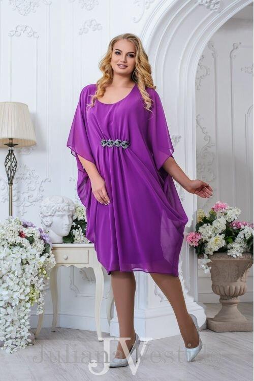 Нарядное платье Эмилия фиолетовый